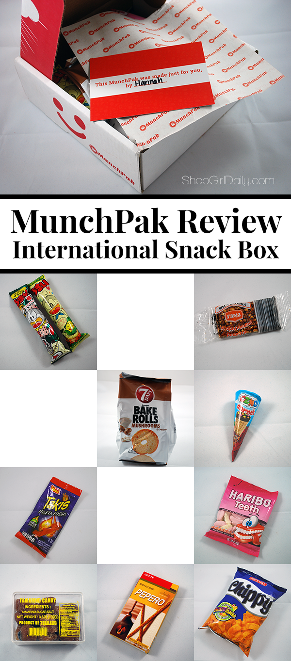 Black Friday Munchen Munchpak Review An International Snack Subscription Box