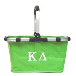 Kappa Delta Market Tote. www.sassysorority.com #KD #markettote #tailgate #tote #monogram #KappaDelta #sassysorority #sororitygift