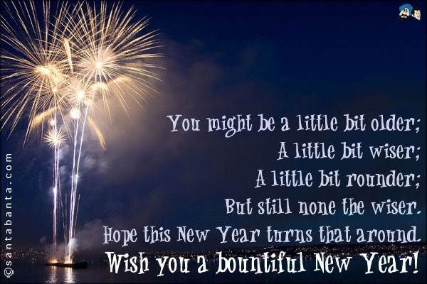 wish you a beautiful happy new year messages pictures