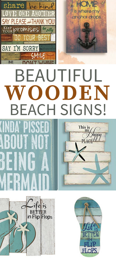 Wooden Beach Signs Coastal Wood Signs Beachfront Decor Beach Signs Wooden Beach Signs Beach Wood Signs