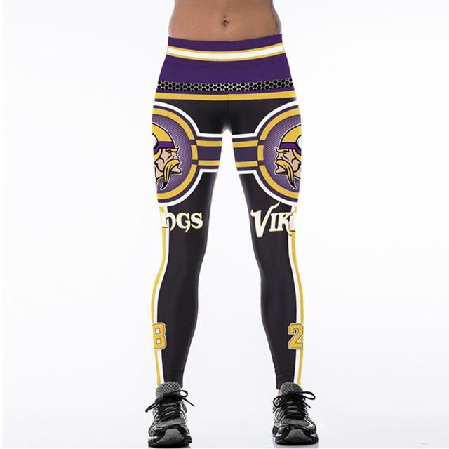 SexeMara VIKINGS 28 3D Print Women Leggings High Waist Legging Steelers  Printed Women Pants Slim Fitness
