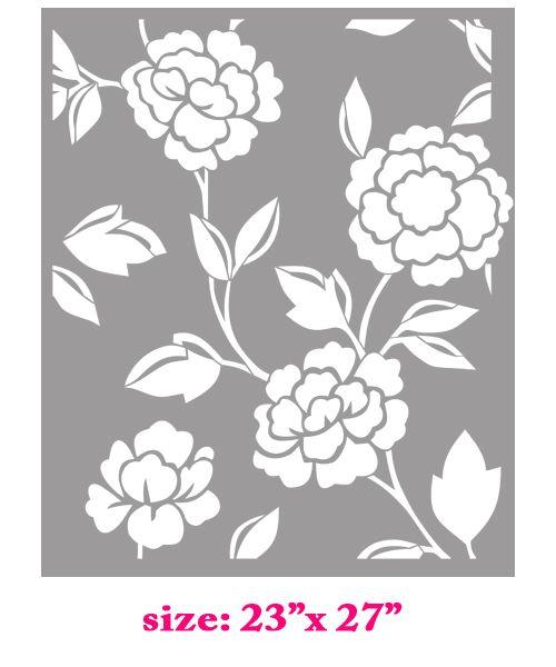 flower stencil patterns - photo #11
