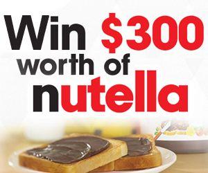 Win $300 Worth of Nutella