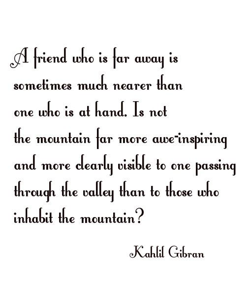 Kahlil Gibran Quotes Kahlil Gibran Friends Fabulous Quotes