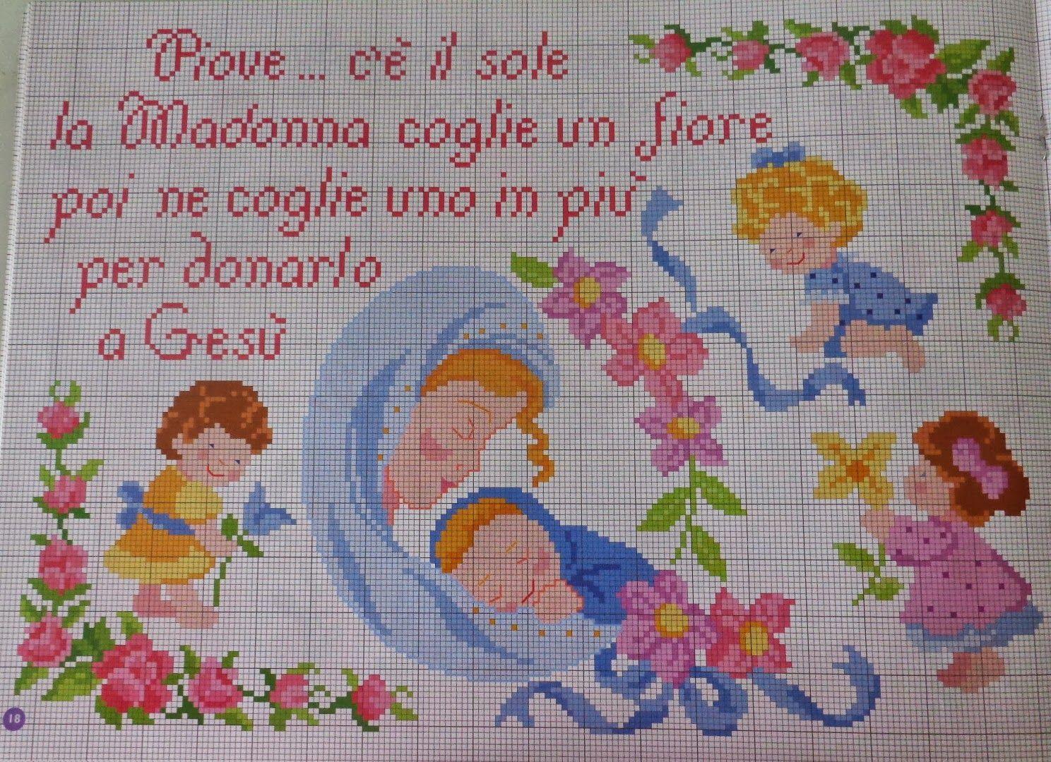 Omeogriphi Bambini ~ Punto croce per i bambini la mia passione: filastrocche e fiabe da