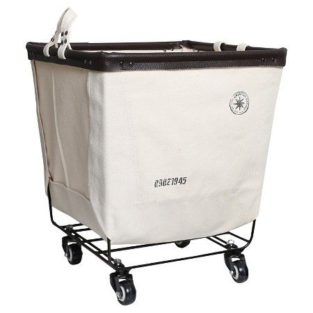 American Vintage Laundry Cart Canvas Cream Canvas Target Laundry Cart Vintage Laundry Laundry Basket Organization