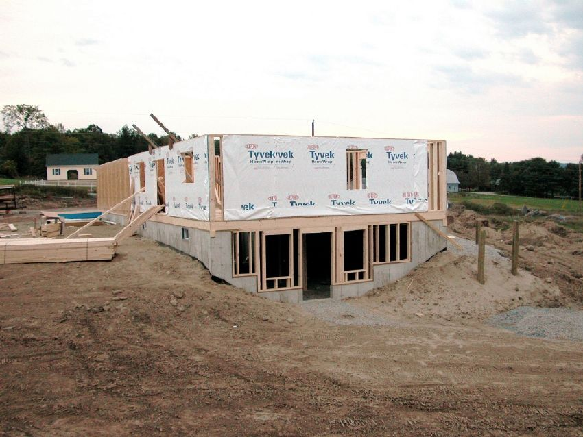 Foundation Basement House Basement House Plans Walkout Basement