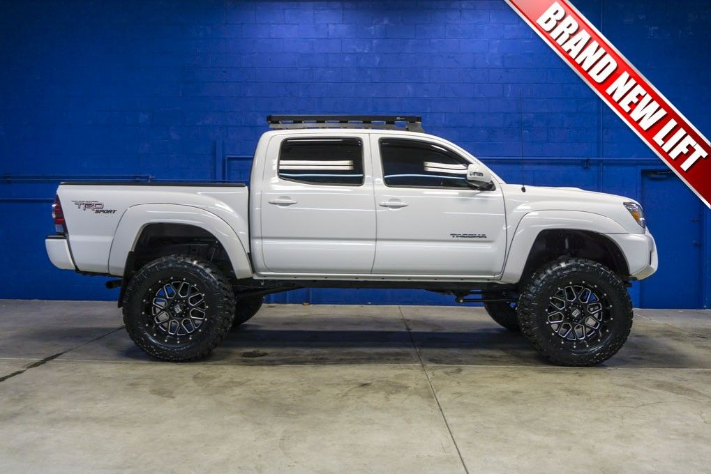 Custom Lifted 2013 Toyota Tacoma TRD Sport 4x4 Pickup Truck with ...