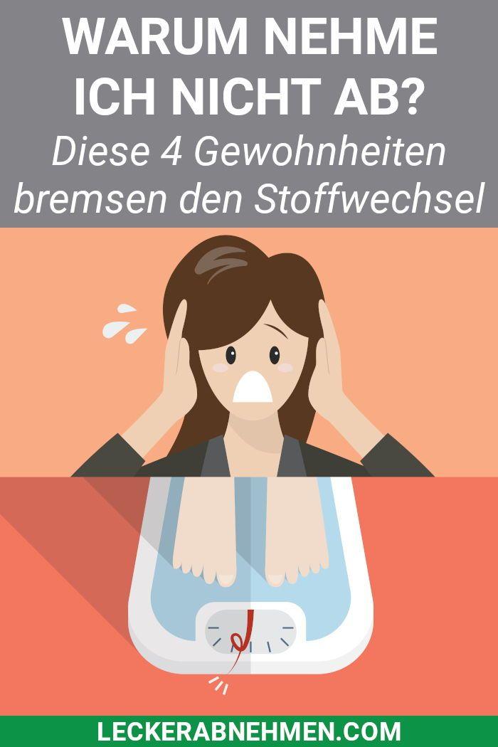 Photo of 4 Gewohnheiten, die beim Abnehmen den Stoffwechsel verlangsamen