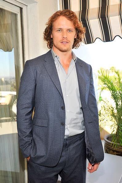Sam Heughan at the LA BAFTAs. 10/29/14