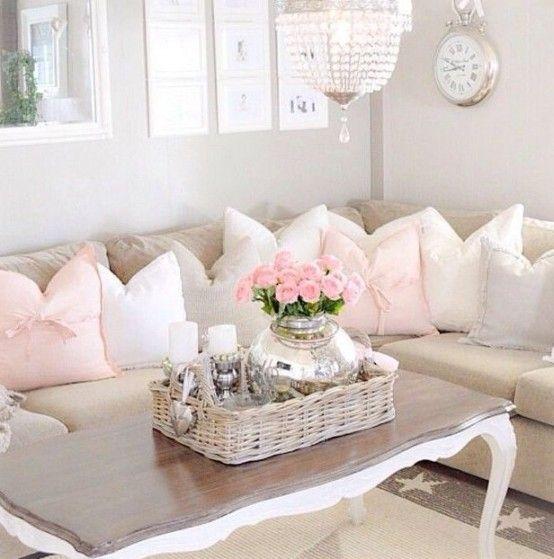 Romantic Living Room Ideas For Feminine Young Ladies Casa: 37 Enchanted Shabby Chic Living Room Designs