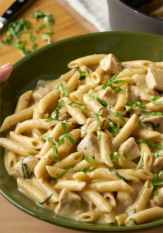 One Pot Chicken Parmesan Peppercorn Pasta Swanson Recipe Chicken Soup Recipes Campbells Soup Recipes Chicken Parmesan Pasta Recipe