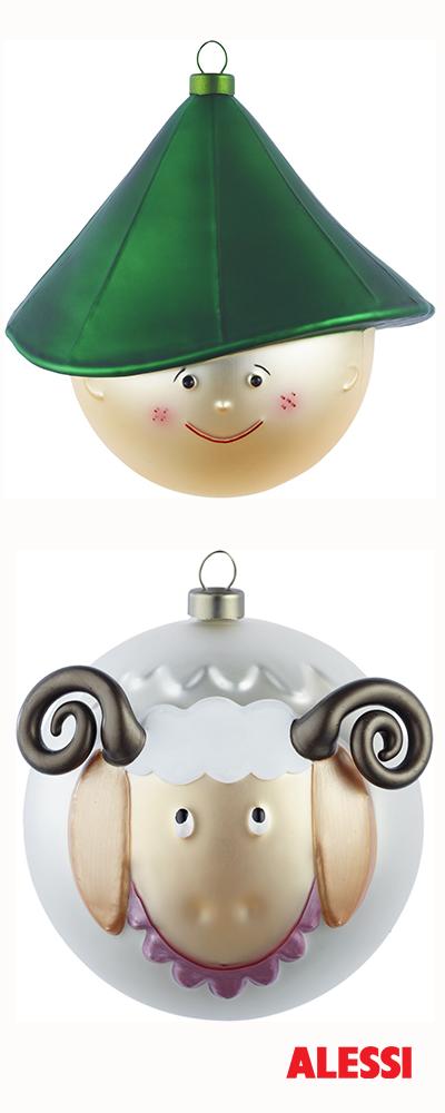 Pastorello & Pecorello - christmas bauble, LPWK and Marcello Jori, 2013 #alessi #design #alessichristmas