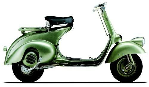 Vespa 125 (1948 to 1953) – Like Dolce Vita, cat's eye sunglasses and Chianti? Try this Italian scooter icon. | bffbridesmaid.com