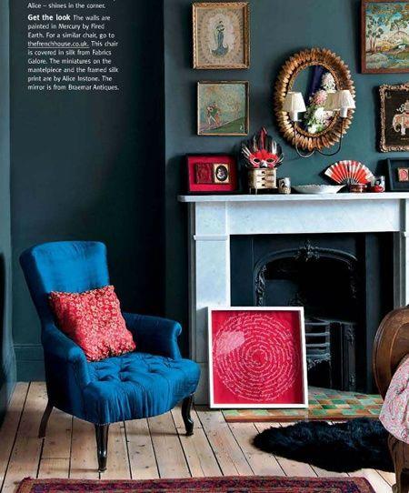 die besten 25 dunkle wohnzimmer ideen auf pinterest dunkelblaue w nde dunkle innenr ume und. Black Bedroom Furniture Sets. Home Design Ideas