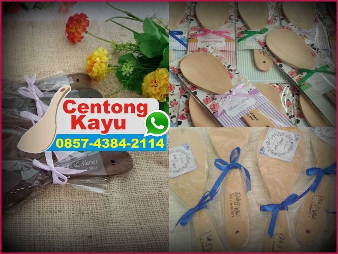 Centong Nasi Kayu Padang Warna Souvenir Pernikahan Pernikahan