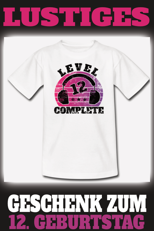 Geschenk Ideal 12 Geburtstag 12 Jahre Geschenk Geburtstag Zwolf Teenager Premium T Shirt In 2020 12 Geburtstag 12 Geburtstag Madchen Geburtstag Junge