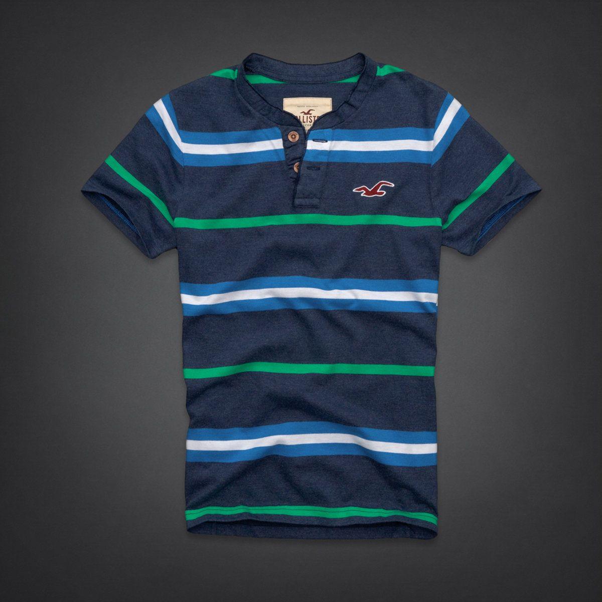 Dudes La Costa Henley Dudes T Shirts Hollisterco Com