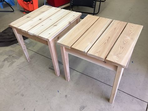 Diy Outdoor Side Table Plans Rogue Engineer 6