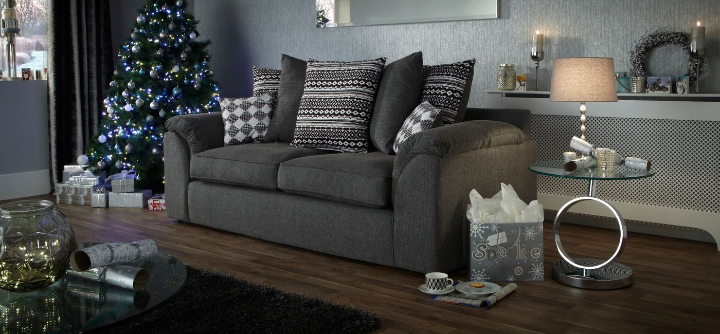 Sofa BedSleeper Sofa The Lucas seater scatter back sofa bines stylish fabric designs fibre filled seat interiors and frame warranty Buy online now at ScS