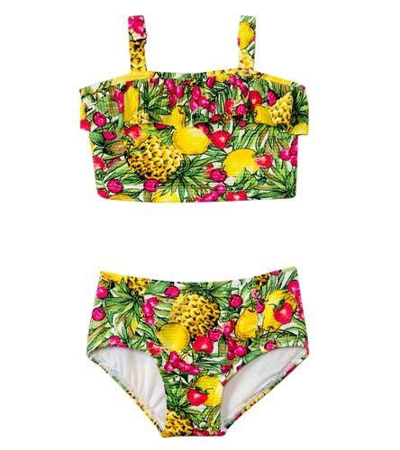 Seafolly Girls Tuttie Cutie Bustier Bikini Set sz 7
