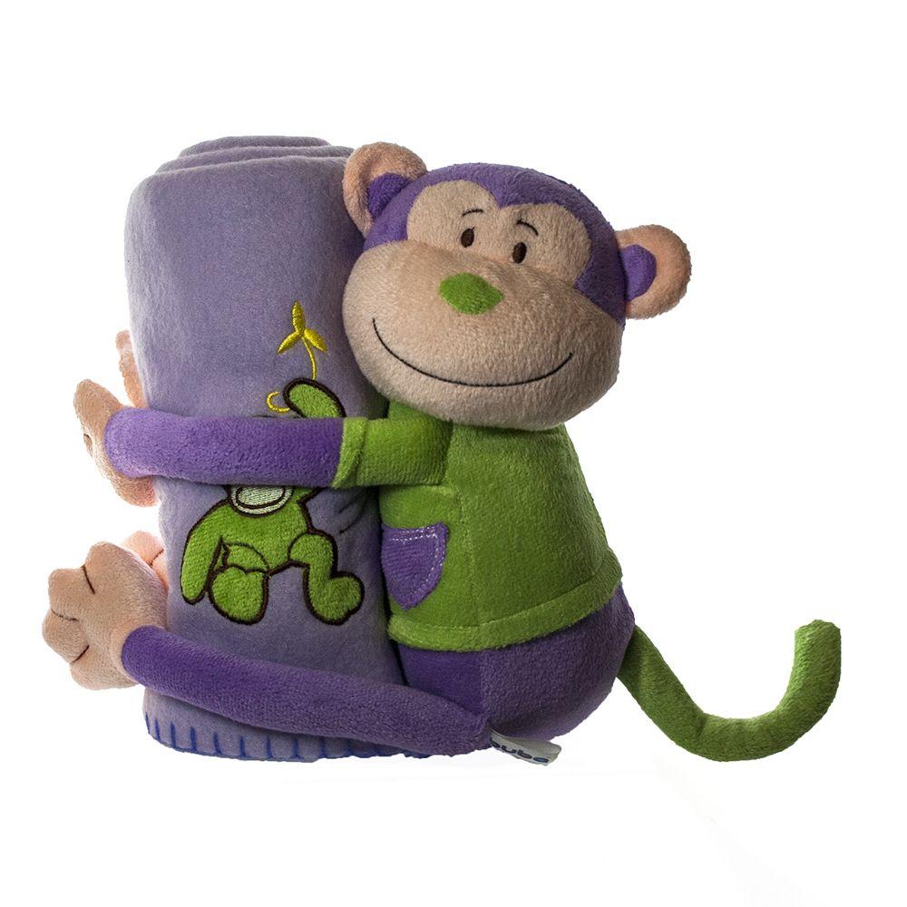 Macaco Pelúcia com Manta