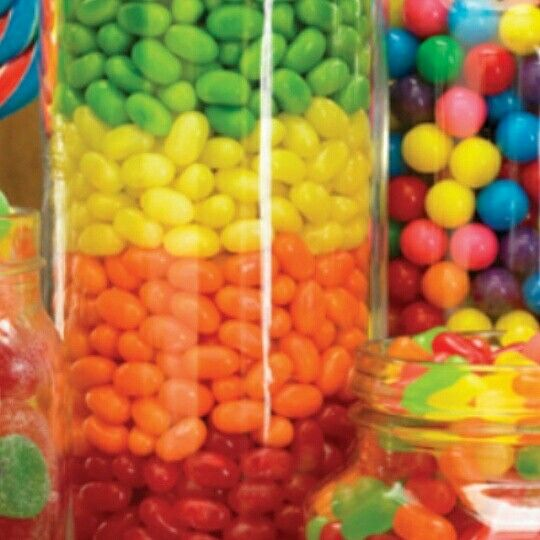 Different kinds of candy Yum!!