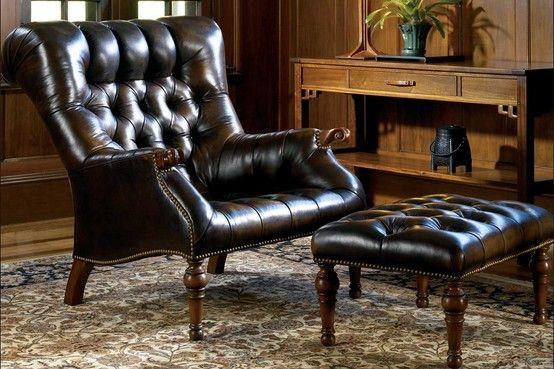 Stickley Leopold Chair For Sale Wicker Barrel Debbie Erb Furniture Leather