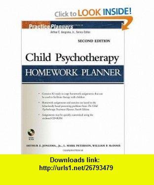 Child Psychotherapy Homework Planner (PracticePlanners) (9780471785347) Arthur E. Jongsma Jr., L. Mark Peterson, William P. McInnis , ISBN-10: 0471785342  , ISBN-13: 978-0471785347 ,  , tutorials , pdf , ebook , torrent , downloads , rapidshare , filesonic , hotfile , megaupload , fileserve