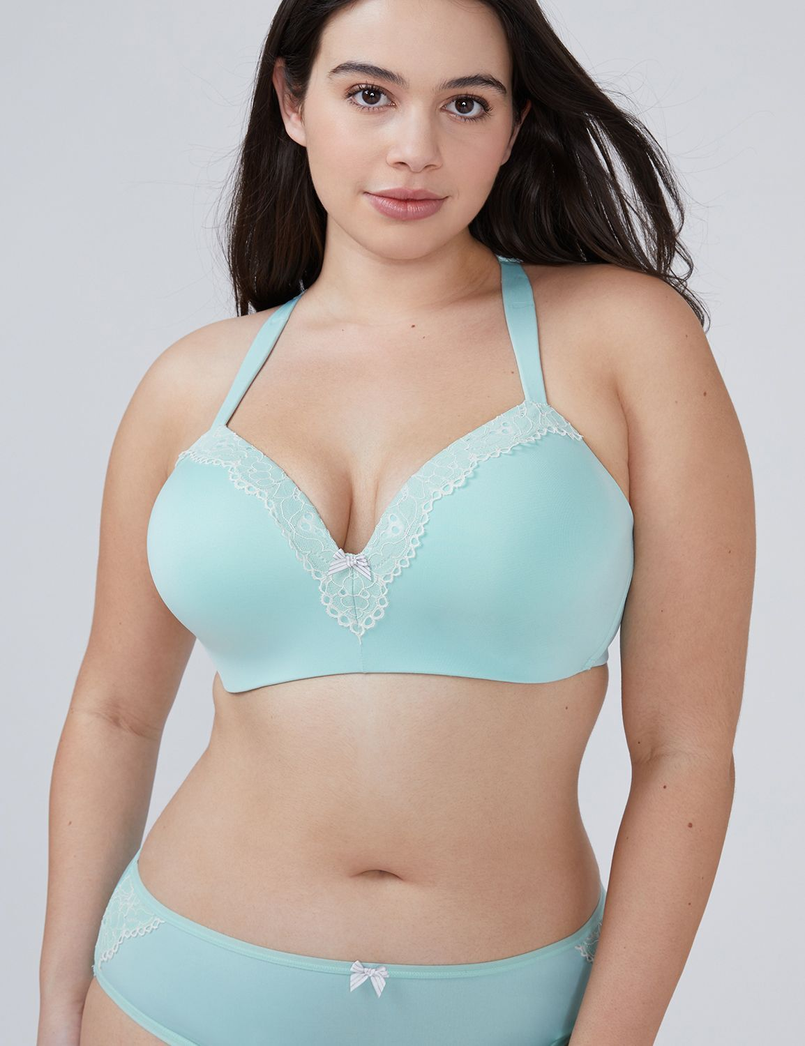 86757d02ce2 Simply Wire Free Lightly Lined Racerback T-Shirt Bra