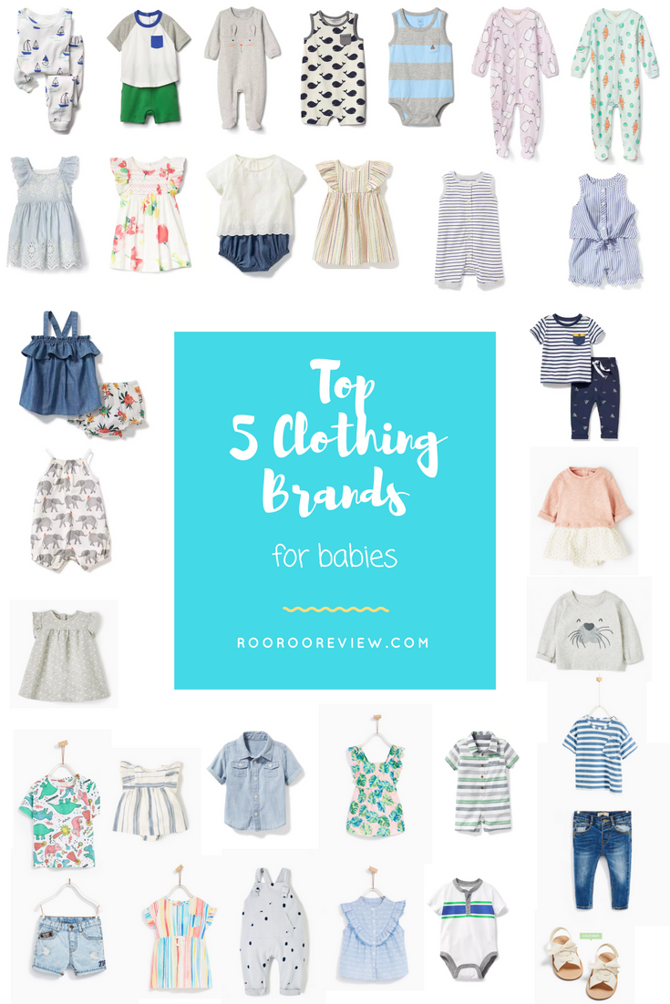 Top 5 Clothing Brands for Babies. How to shop for babies!  b97e2305ceeb