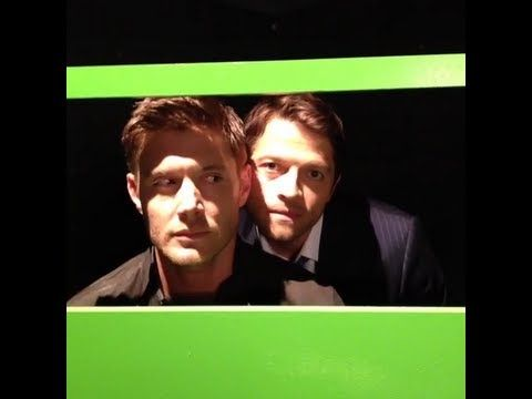 Jensen Ackles and Misha Collins - CW 2013 Fall Season