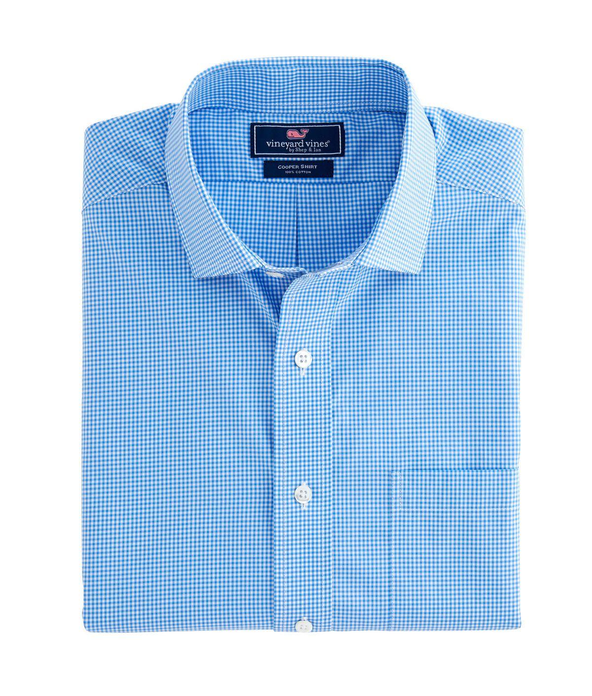 Cove Pong Gingham Classic Cooper Shirt