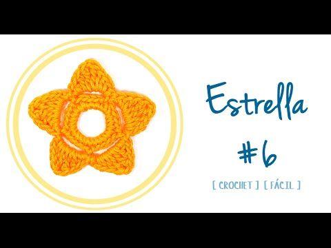 #Estrella 06 a #Crochet | #PatronesValhalla