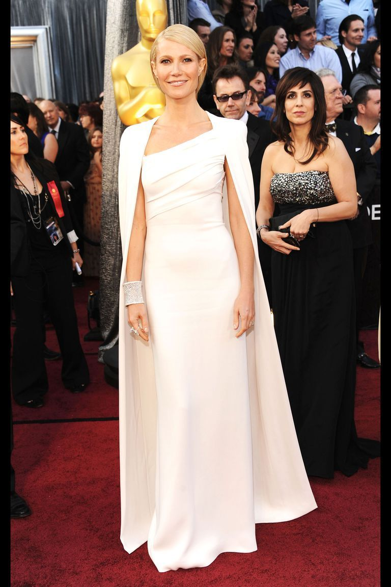 Gwyneth Paltrow in Tom Ford at the 2012 Oscars -