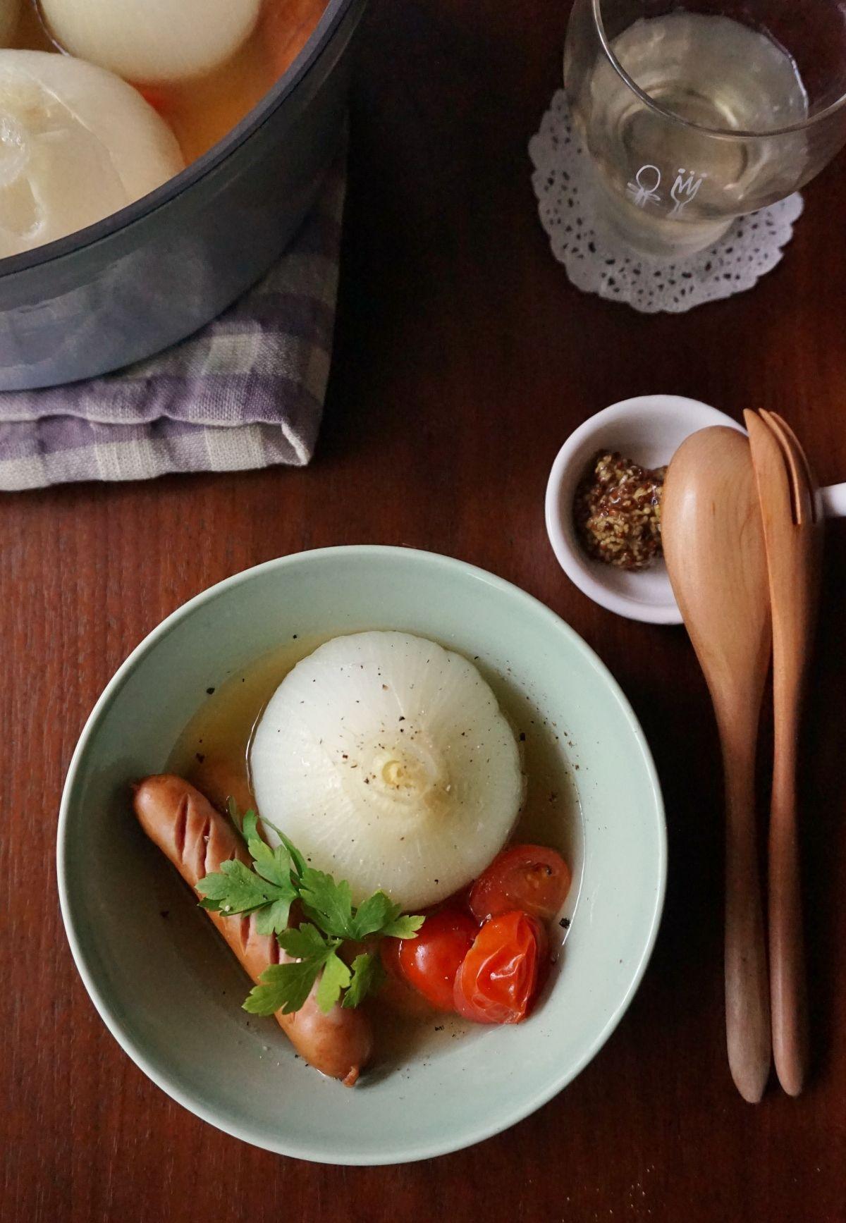 玉ねぎ 卵 ウインナー