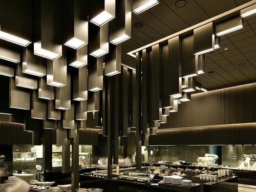 Namus Boutique Restaurant Unique Ceiling Design, restaurant design, elegant  restaurant design, impressive restaurant