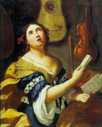 Personification Of Music, by Elisabetta Sirani (Italian, 1638-1665)