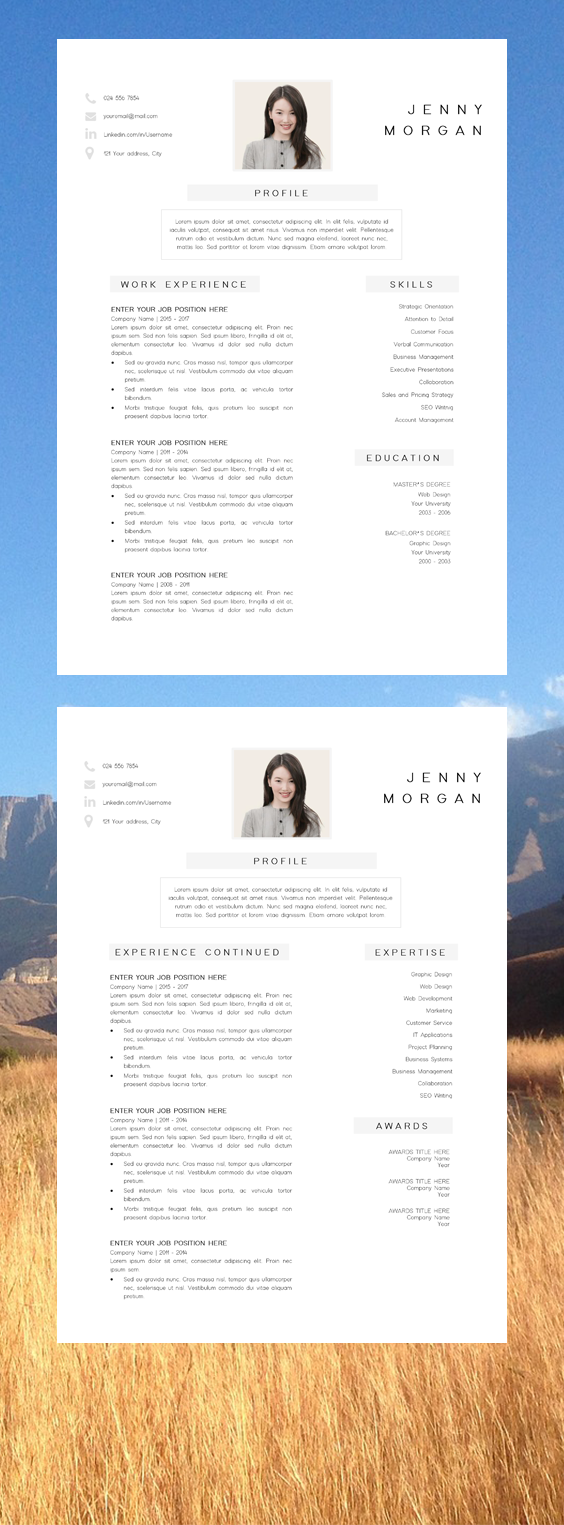Simple Cv Template Word Resume With Photo Template Resume Minimalist Creative Resume Design Free Resume Template Resume Pages Cv Template Word Simple Cv Template Cv Template