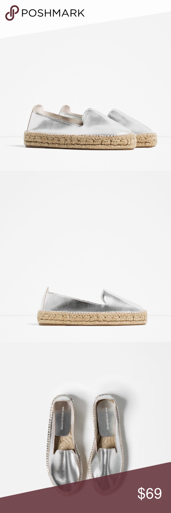 dd3643dafb2 ZARA Espadrilles BRAND NEW Next day shipment for this item. Brand new with  tags