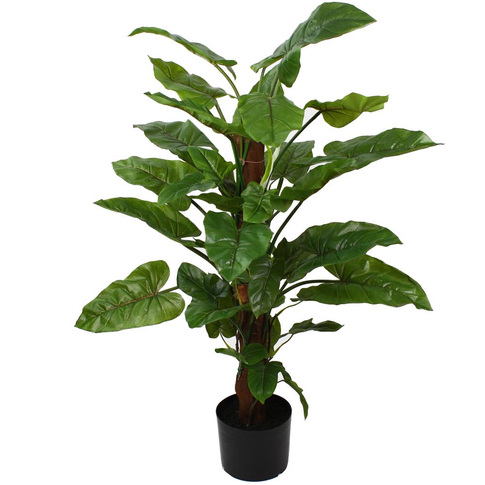 94cm Faux Emerald Philo Plant on Pole Temple & Webster