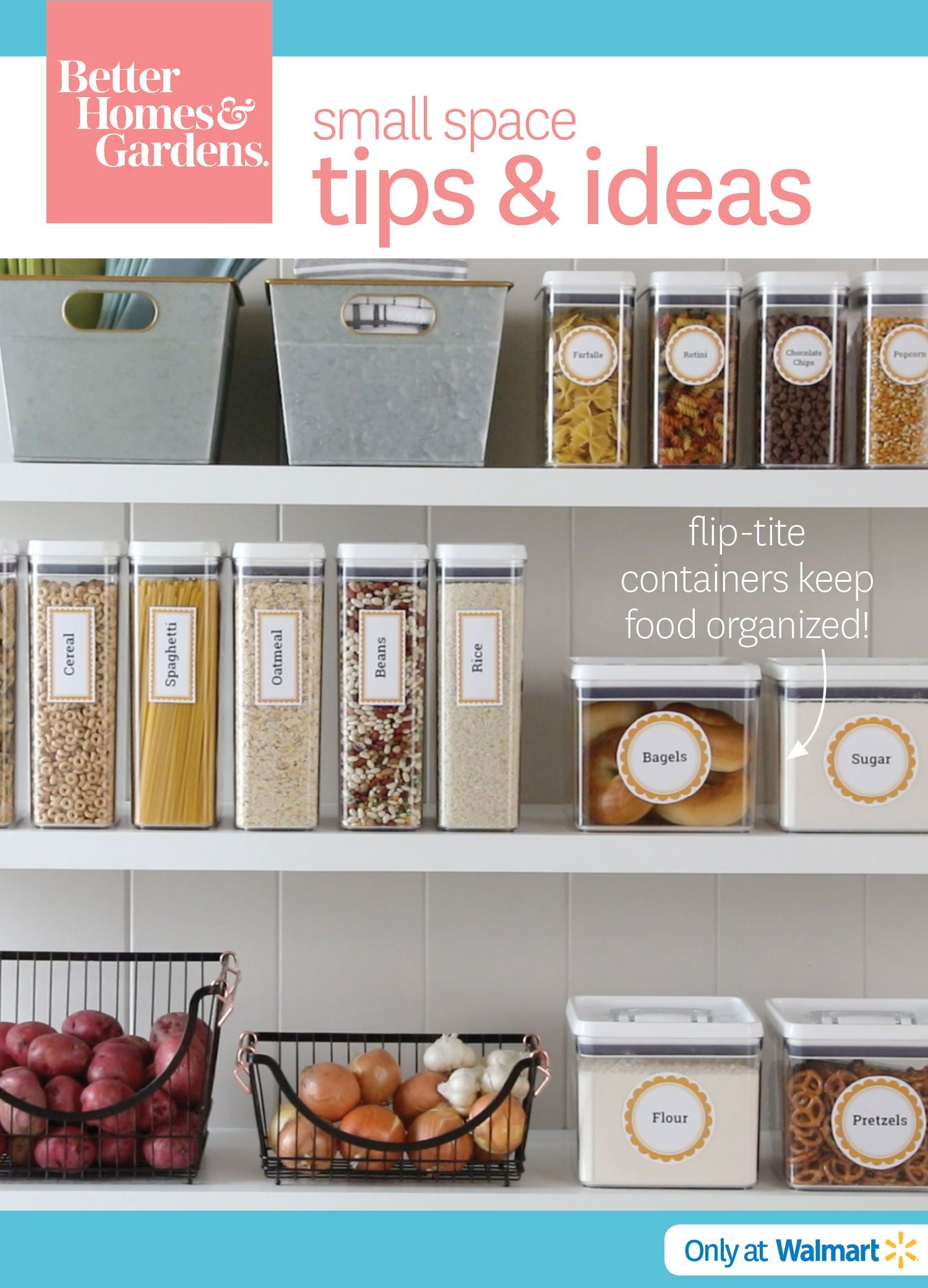 Flip Tite Containers Keep Food Organized Kitchen Organization
