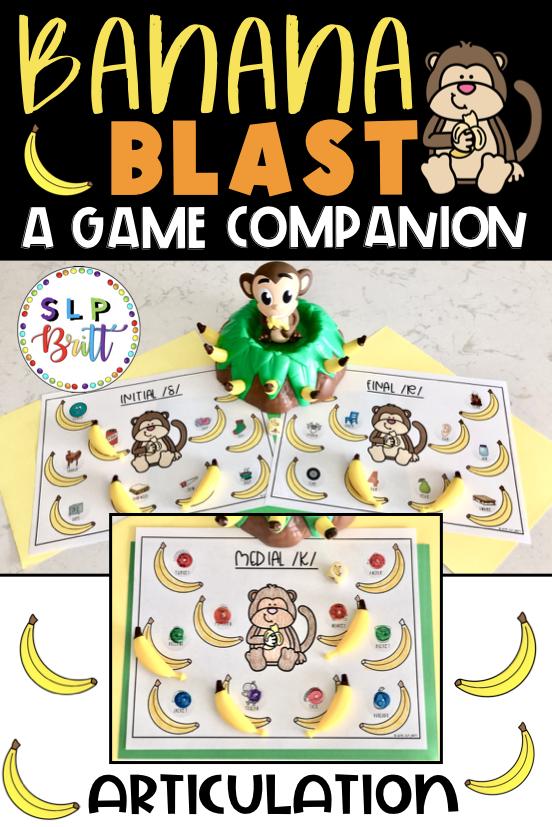 Banana blast (monkey & banana) game companion