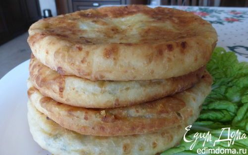 Сырные лепешки | Кулинарные рецепты от «Едим дома!»