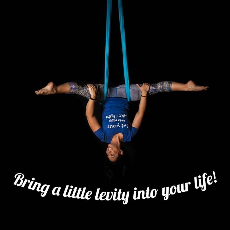 To Enjoy Each Breathing Day You Need To Set Aside Time To Play Register For Aerial Yoga Playtime By Contacting F Aerial Yoga Aerial Yoga Poses Yoga Quotes