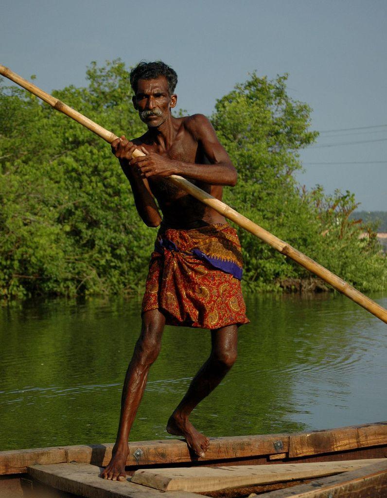 Punting The Backwaters Kerala Boat