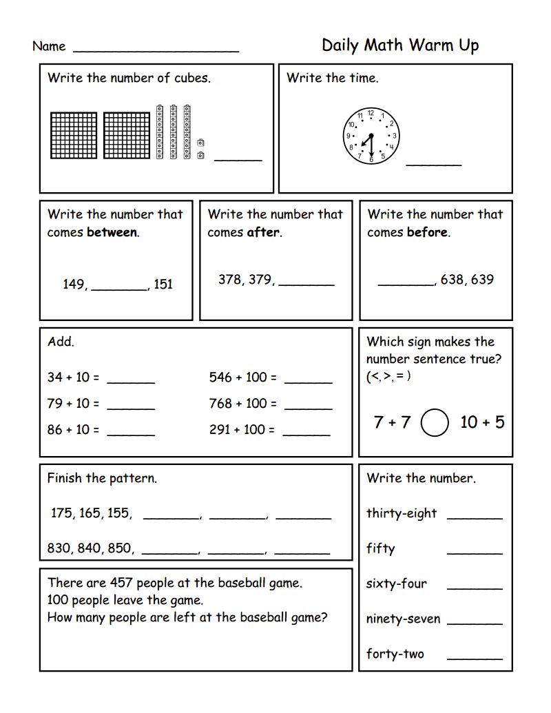 place value to 1.000.pdf - Google Drive | Math | Pinterest