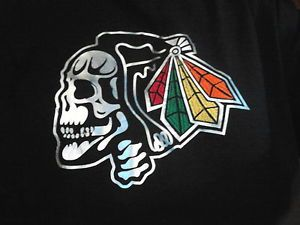 buy popular fd79e 1d5a4 Details about Majestic Chicago Blackhawks Its Better In The ...