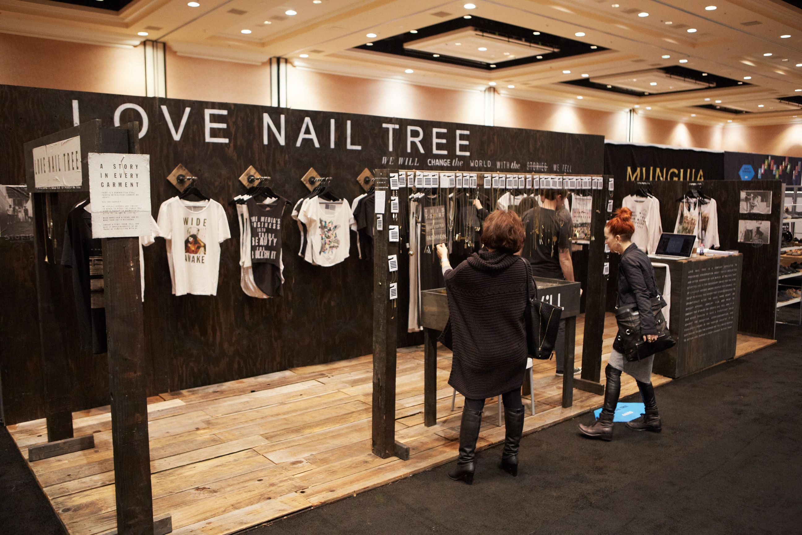 Custom Booth by Love Nail Tree | Booth Designs We Love | Pinterest ...