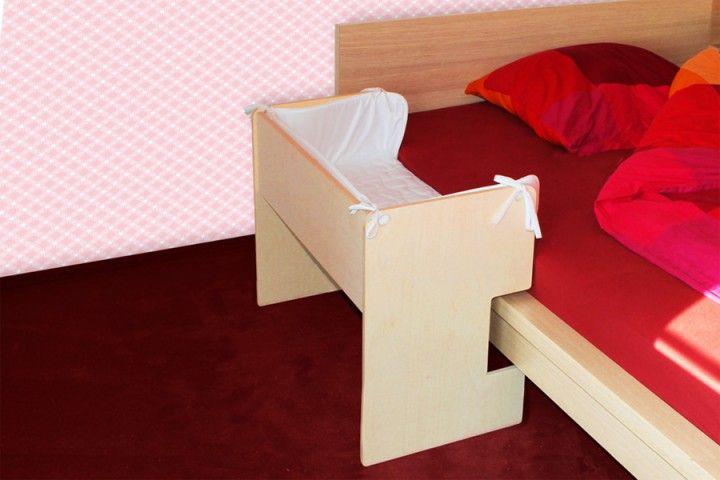 baby beistellbett lilledroem mit nestchen kinderzimmer pinterest beistellbett malm bett. Black Bedroom Furniture Sets. Home Design Ideas
